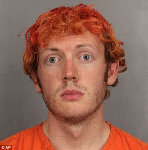 James Holmes mugshot has finally arrived for your eyes only...