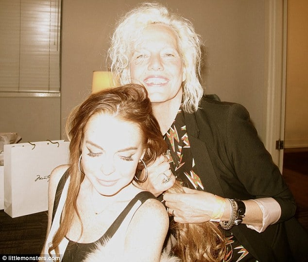 Lindsay Lohan involved in another car accident