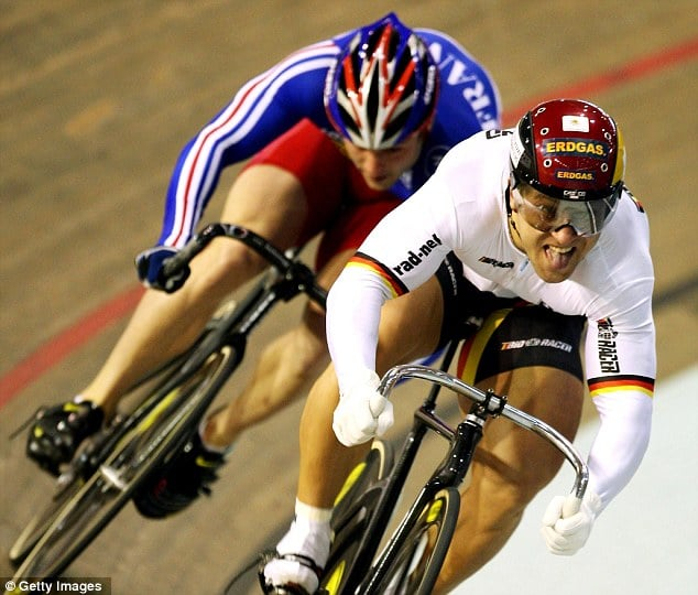 German Olympic cyclists tweet freakish pictures of their thighs. So thats why they win....