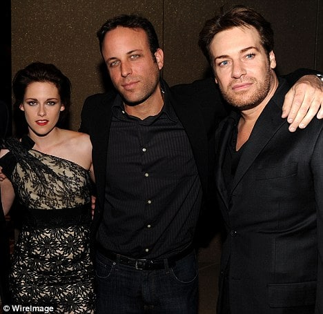 Film producer Giovanni Agnelli, right, has defended actress Kristen Stewart, left, following her affair with Rupert Sanders