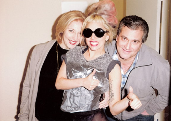 Lady Gaga and her parents