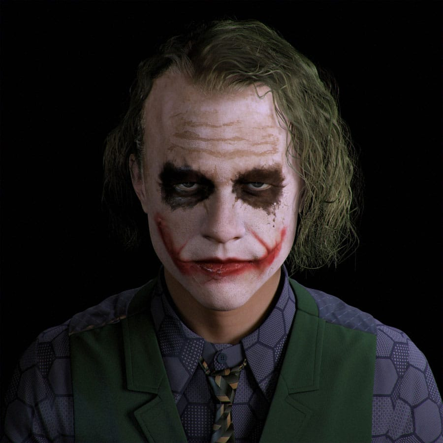 Is James Holmes emulating the role of the Joker brought to the fore by the deceased actor Heath Ledger?