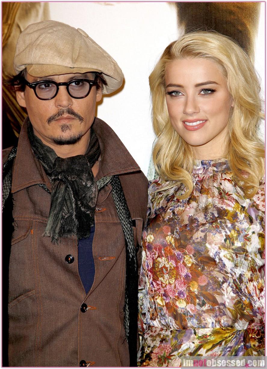 John Depp and Amber Heard