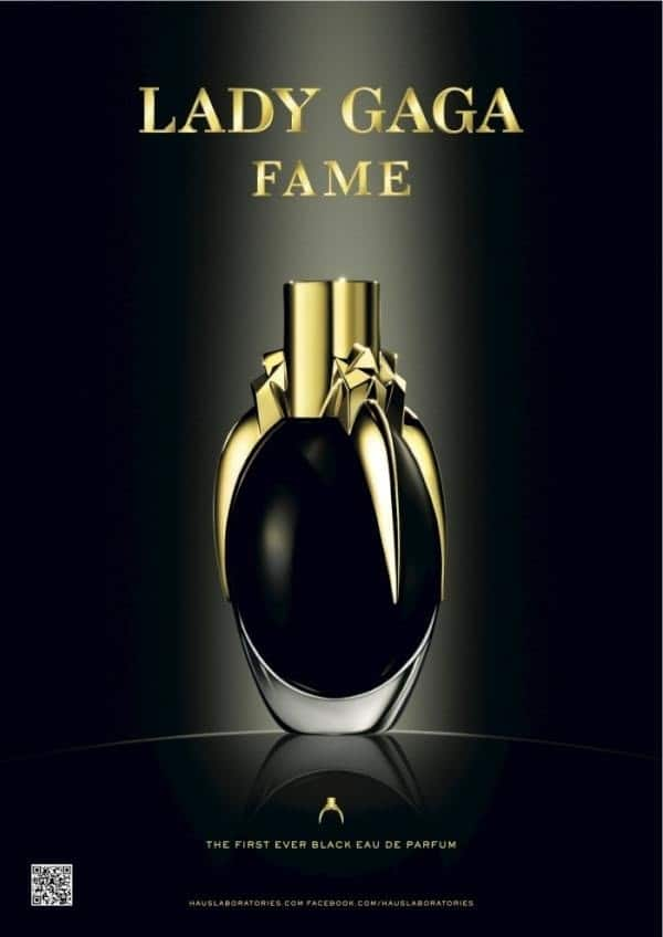 Its time to gawk at Lady Gagas new Fame ad. Smells like an expensive hooker...