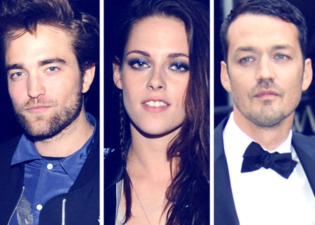 Robert Pattinson, Kristen Stewart and Rupert Sanders.