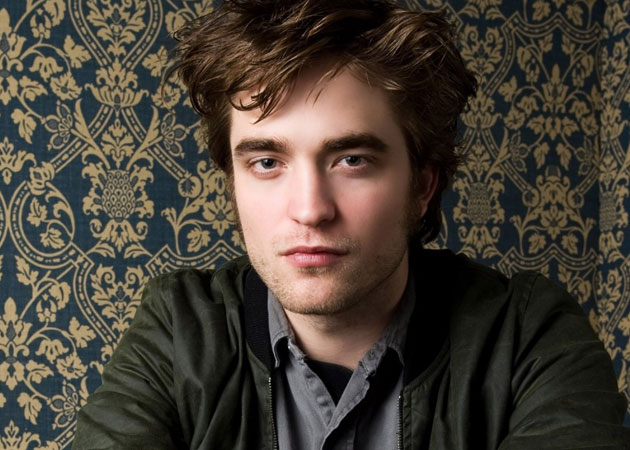 A distraught Robert Pattinson