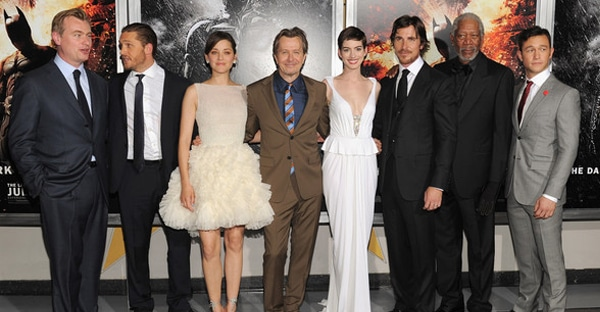 Dark Knight Rises premiere at NYC