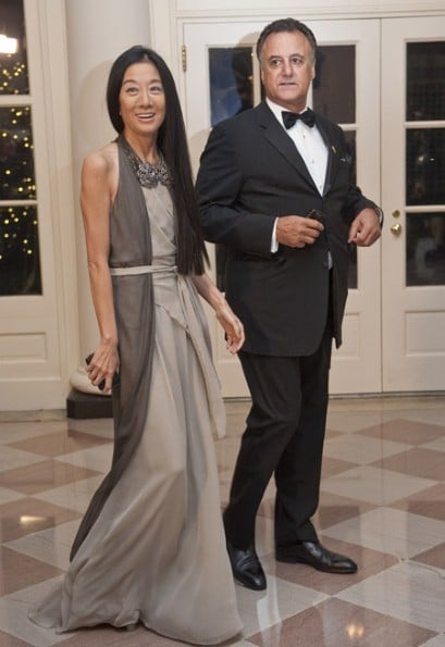 Vera Wang and Arthur Becker
