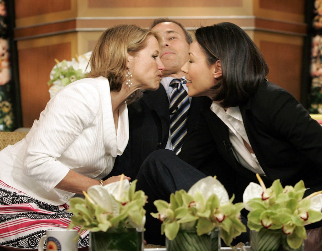 Katie Couric, Matt Lauer and Ann Curry