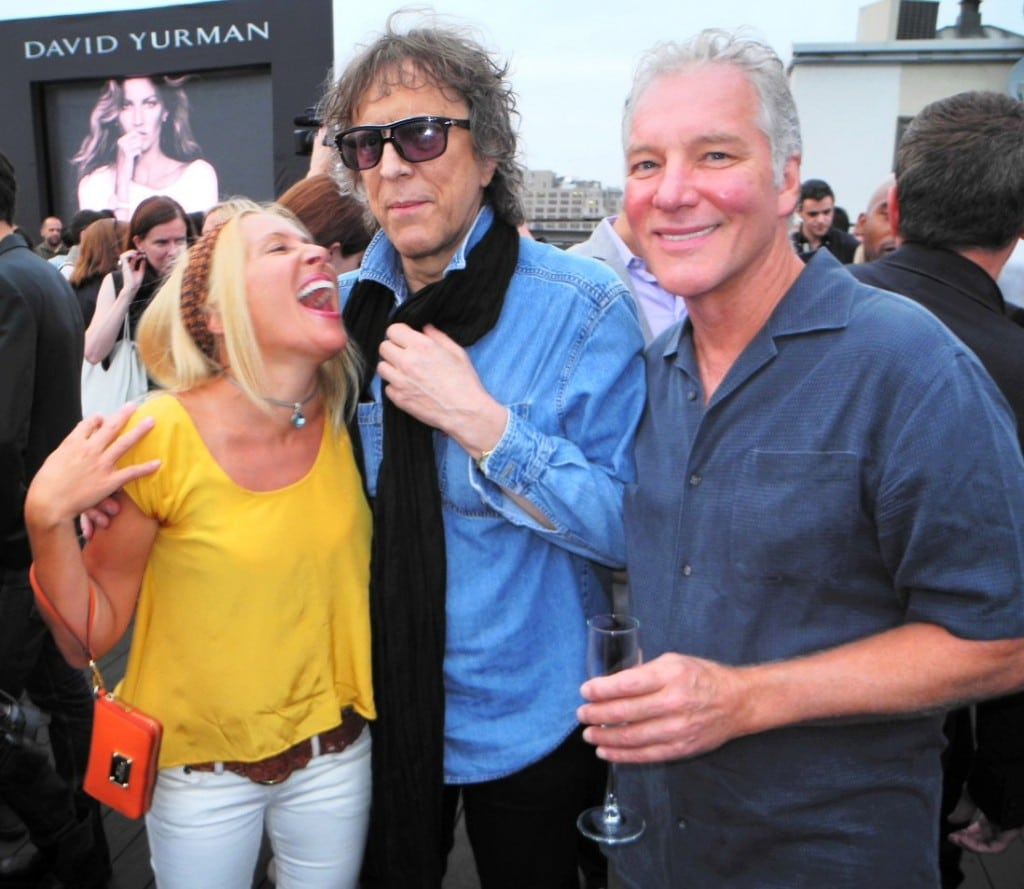 Mick Rock at the David Yurman summer party. Photos via redhot-society.com Photography by Ricardo Garcia.