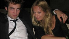 Robert Pattinson and LA student Erika Dutra.
