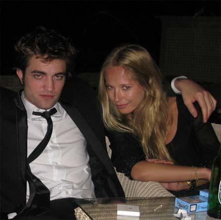 Robert Pattinson and LA student Erika Dutra.