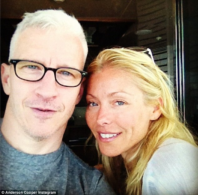 Anderson Cooper and Kelly Ripa via instagram.
