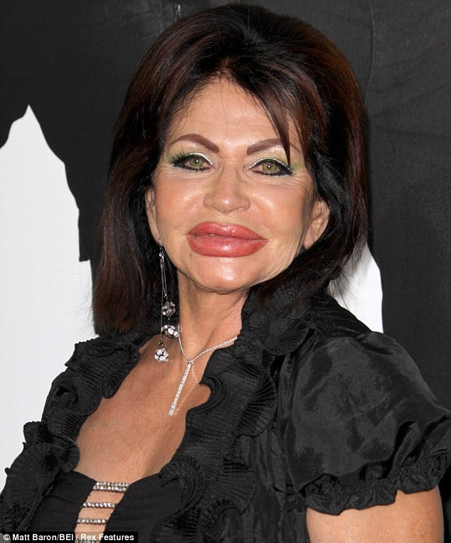 Jackie Stallone at 90 years old is also a preferred hawt bixch.