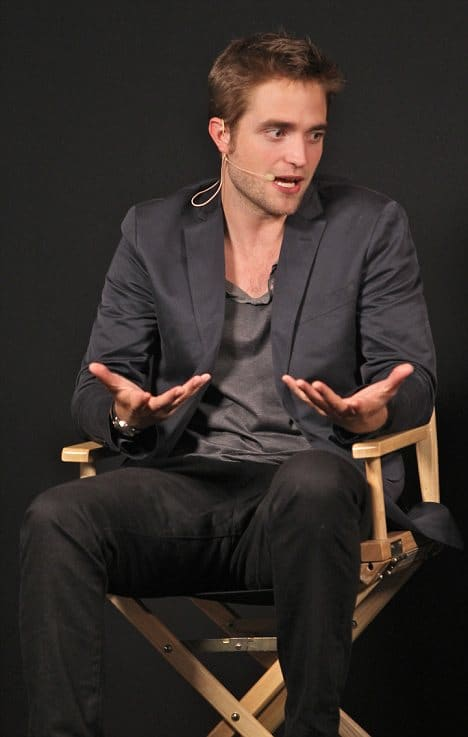ROBERT PATTINSON MEET THE FILMMAKERS APPLE STORE REGENTS STREET