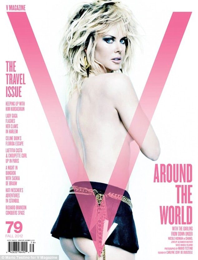 Nicole Kidman for V magazine