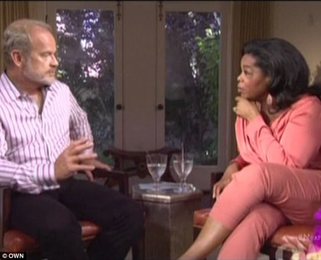 Kelsey Grammar has raw wounds to share with Oprah Winfrey