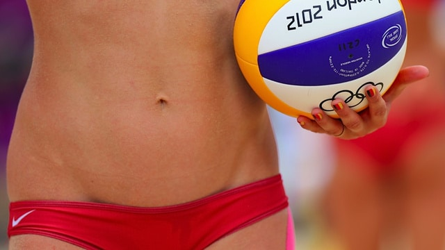 Olympic Beach Volleyball player