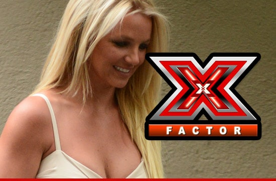 Britney Spears is toxic on the X factor.