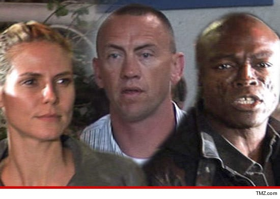 Heidi Klum, the bodyguard and Seal