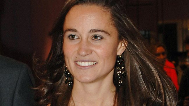 Pippa Middleton. Has she been asked to spend some time abroad to mend her ways?