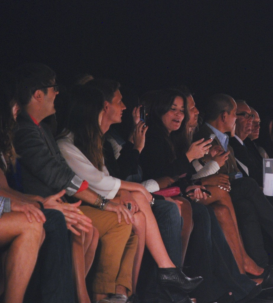 Ryan Lochte and Pippa Middleton front row for Rebecca Minkoff Spring 2013