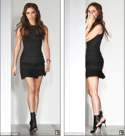 Oh my! Front row applauds for Victoria Beckhams Spring 2013 Collection.
