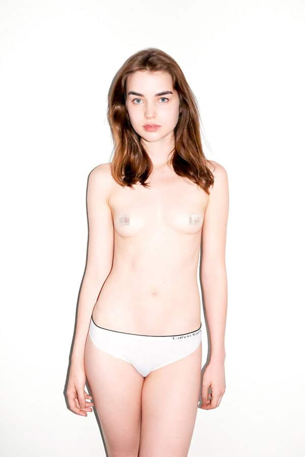 Terry Richardson has some outtakes from his nude Hipster shoot for Purple Magazine.