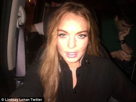 Lindsay Lohan via tweeter. Cause getting enough attention keeps her sane...