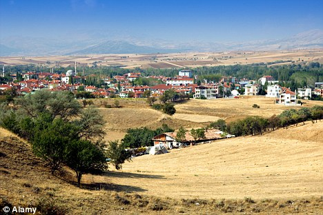 The town where the rape took place in Turkey