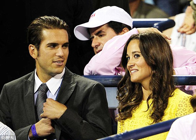 Spence Vegosen and Pippa Middleton