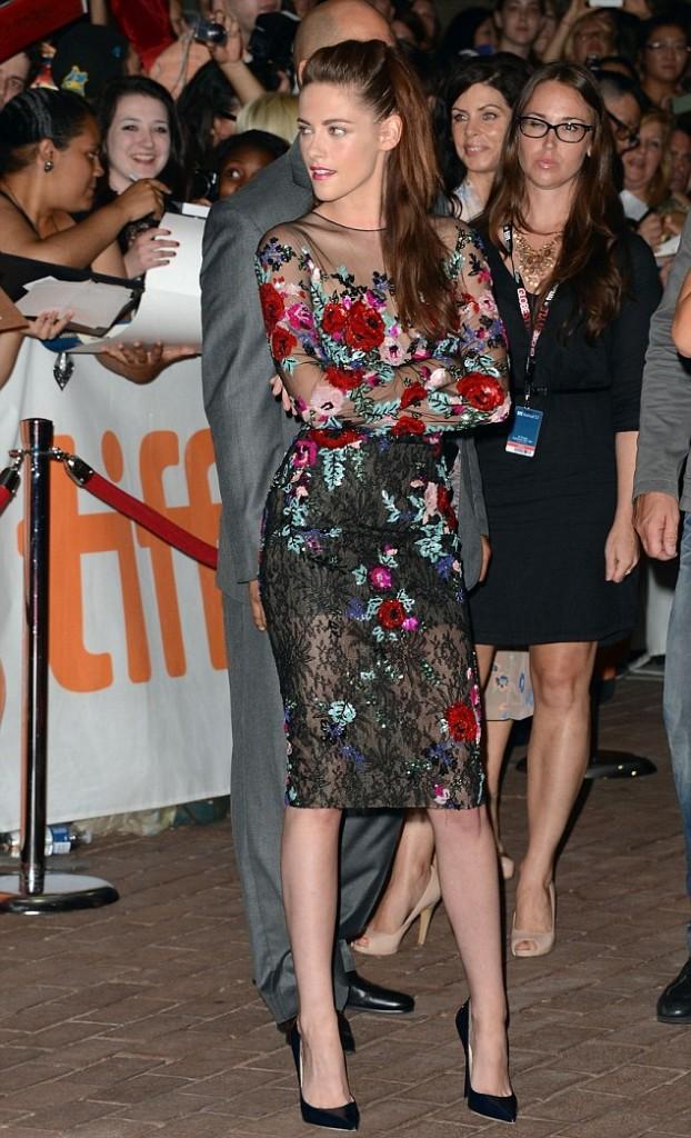 A bit lonely there Kristen Stewart?