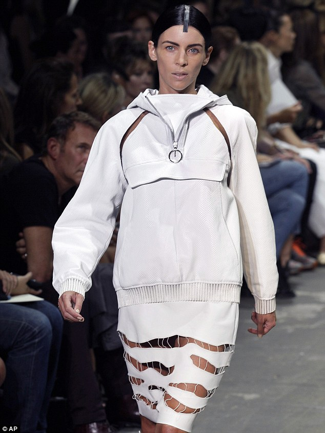 Liberty Ross for Alexander Wang's 2013 Spring collection