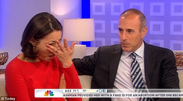 Ann Curry and Matt Lauer.
