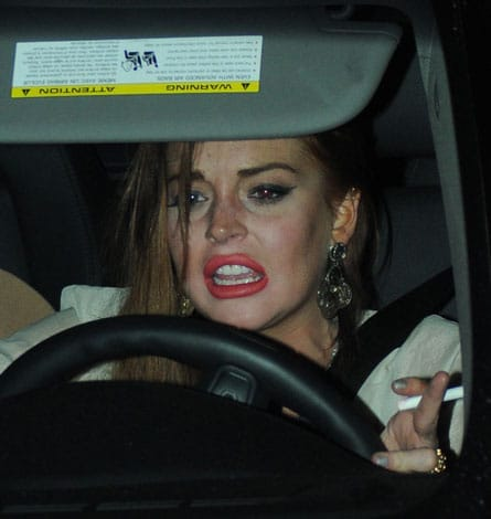 Lindsay Lohan is always just a victim...