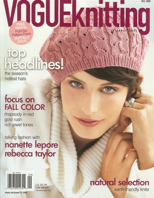 Vogue Knitting Cannot Get Enough of Past Americas Next Top Model Contestants.