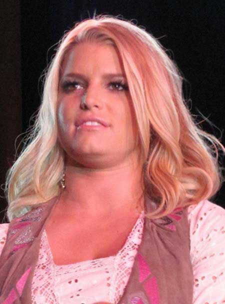 Jessica Simpson during her pregnancy