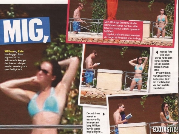New images of Kate Middleton have surfaced via Danish magazine Se og Hør.