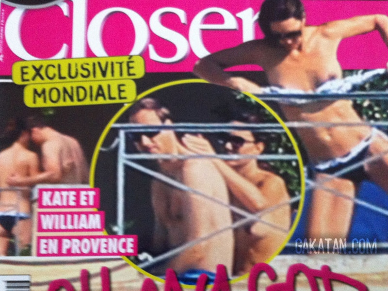 Kate Middleton topless. Italys Chi magazine plans to run 50 new intimate pictures.