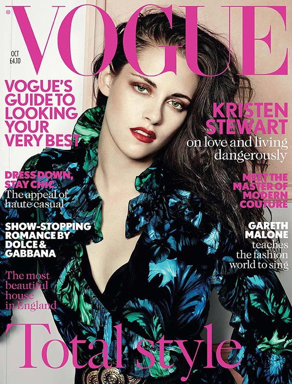 Kristen Stewart for British Vogue