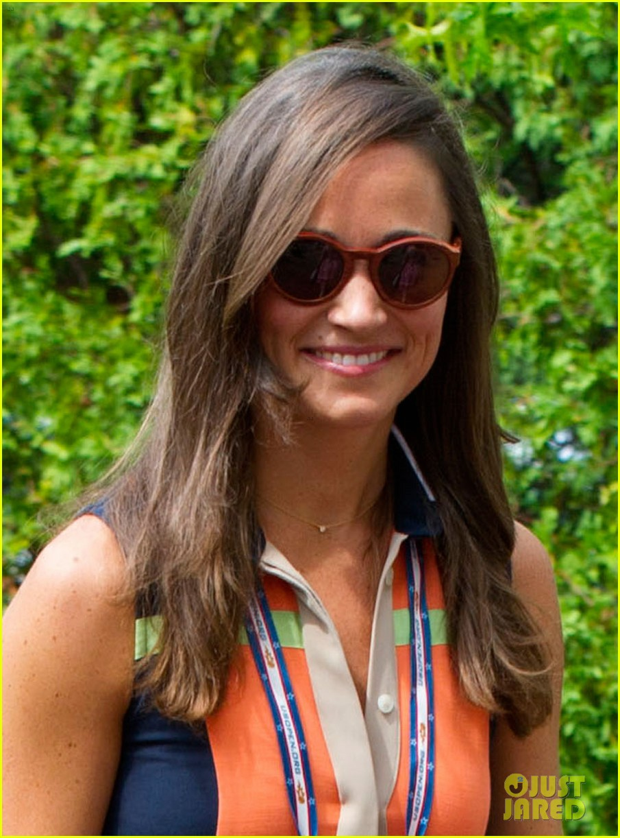 Pippa Middleton attends the US Open.