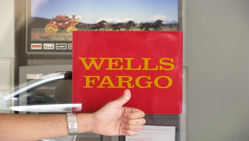 Wells Fargo; 'here to serve you...'