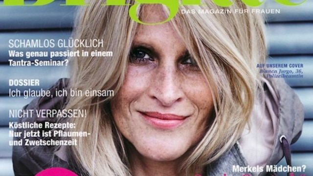 German women's magazine Brigitte