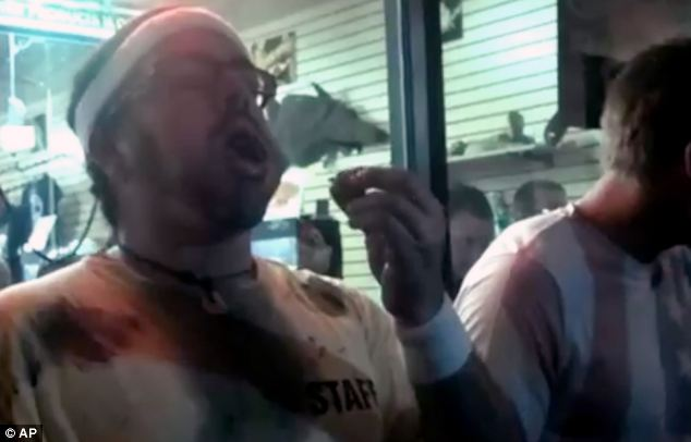 Video: Florida man who wins live roach eating contest dies shortly after event.