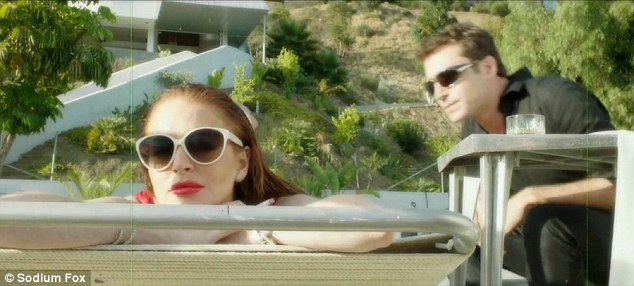 The Canyons starring Lindsay Lohan and James Deen, moral decay in Los Angeles. Art following Lindsays life?