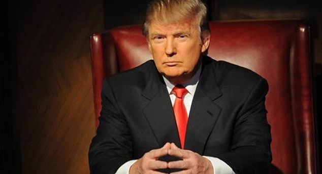 Donald Trump is the celebrity apprentice boss.