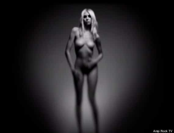 Taylor Momsen is naked just for you.