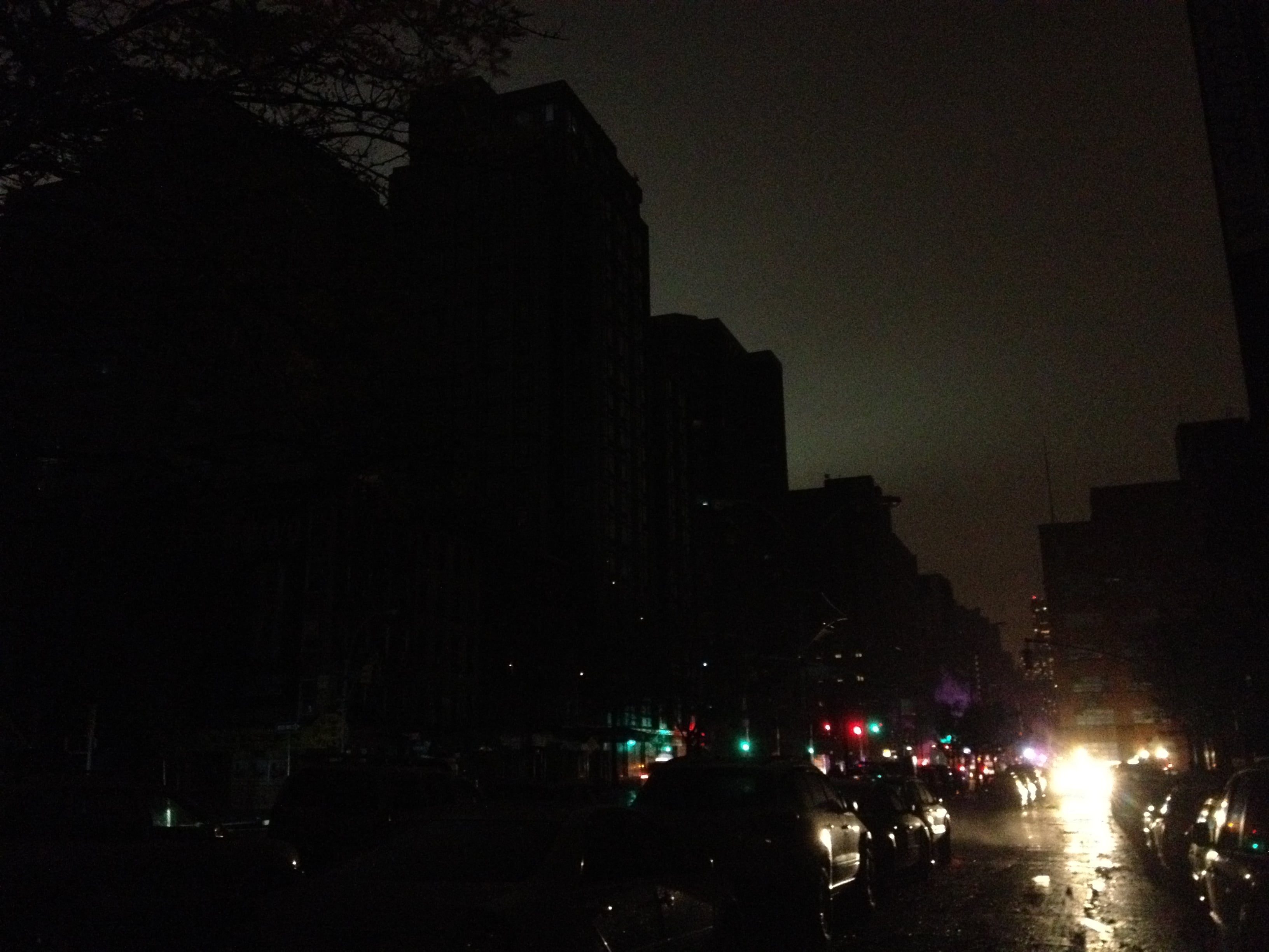 This is what it looks like down here in the dark. Photo via Christopher London of manhattansociety.com