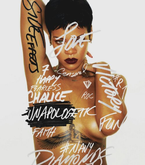 Rihanna is Unapologetic about promoting her new album.