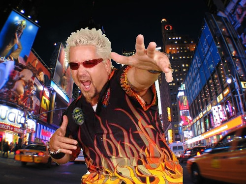 Never mind Guy Fieri will still make a killing whether the New York Times likes him or not...